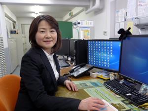 取締役業務グループリーダー 平野裕子